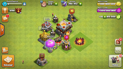 Clash of Nyamuk - Clash of Clans Mod Apk