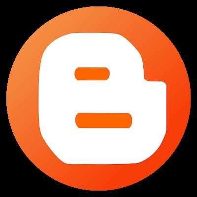 Free Vector Blogger Logo