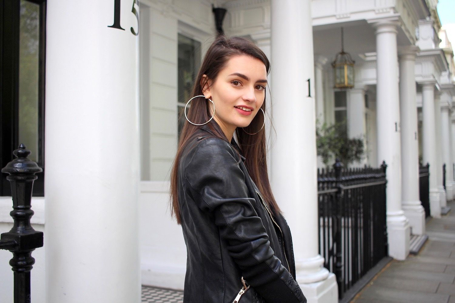 peexo leather jacket river island