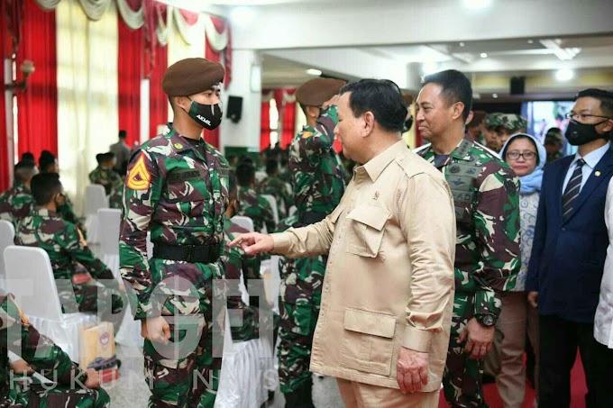 Kasad Dampingi Menhan RI Kunjungan Kerja ke Akademi Militer