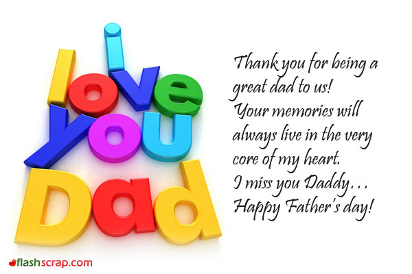 Greetings For Happy Fathers Day