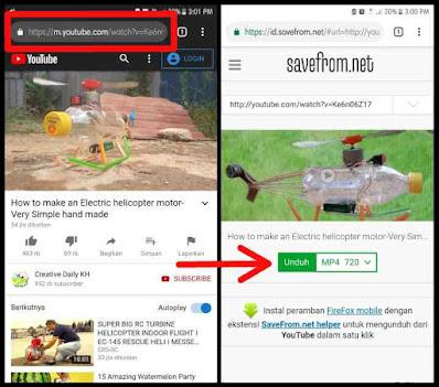 Cara Download Video Youtube Tanpa Aplikasi - 3