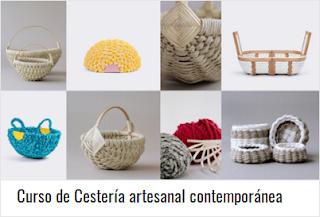 Curso de Cestería artesanal contemporánea