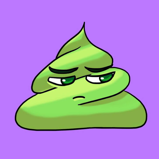 2. Green Poop