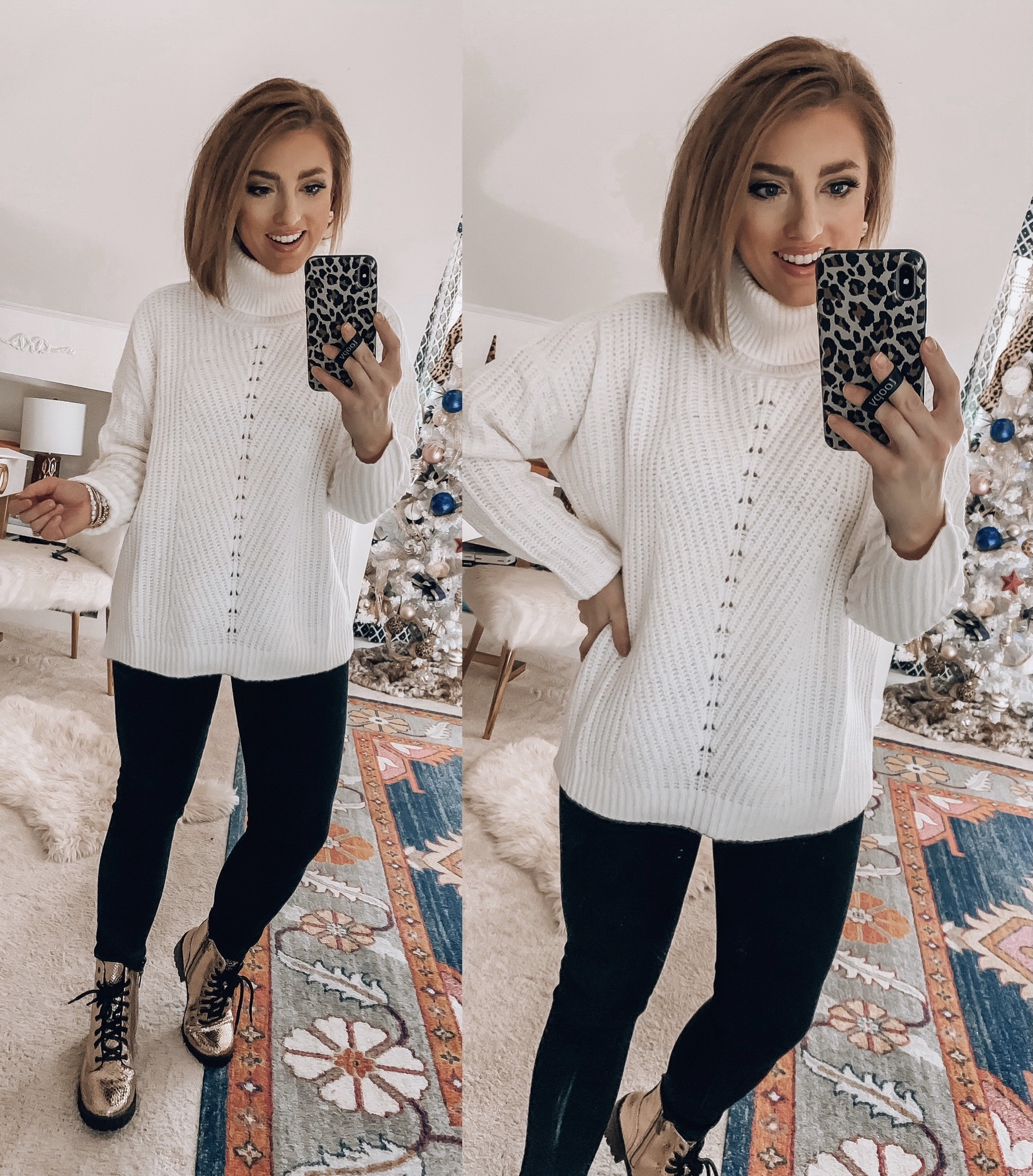 Sweaters + Recent Finds from Walmart - Something Delightful Blog #WalmartFinds #WalmartFashion #AffordableFashion #Sweaters