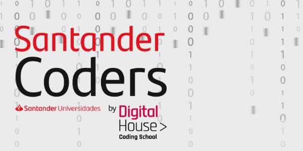 Santander disponibiliza 240 bolsas gratuitas para curso de tecnologia