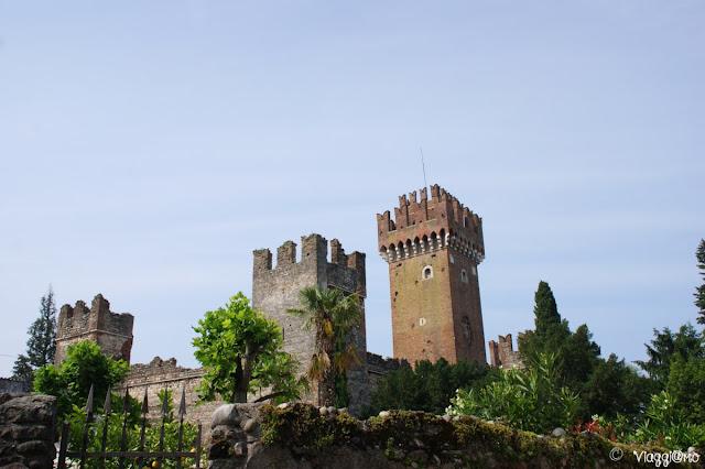 Vista del Castello di Lazise sul Lago di Garda