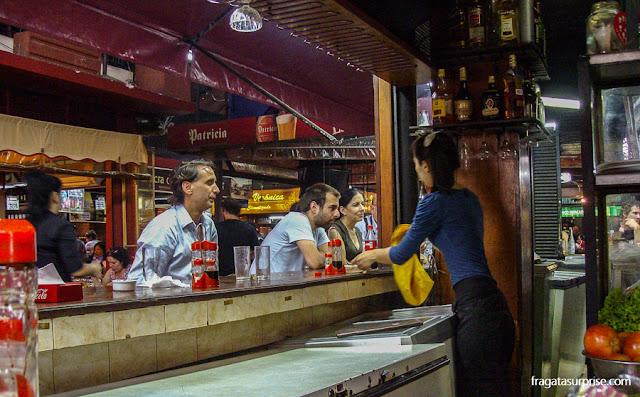 Restaurante La Maestranza, Mercado do Porto de Montevidéu