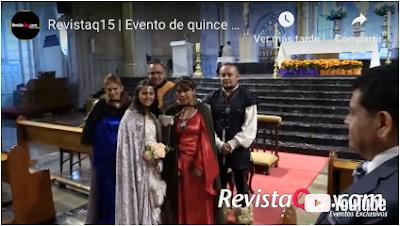 Revistaq15 fiesta de quince años tema medieval