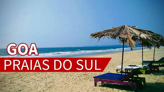 praias no sul de Goa
