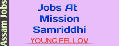 Jobs At Mission Samriddhi Assam । Assam Jobs 2019 । Govt Job Of Assam