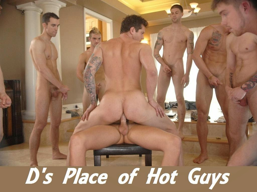 Hot guys trying oral