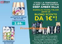 Logo Tigotà e Glade: stampa il coupon da 1€ per Limited Edition Deep Amber Hills