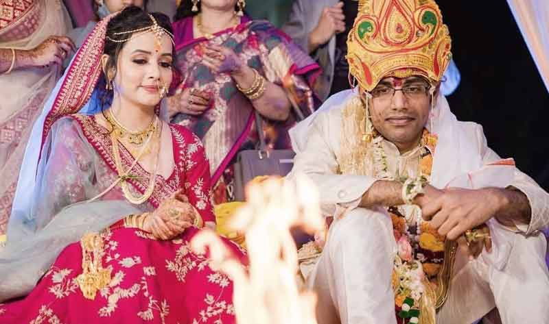 Bollywood Odia Actress Sulagna Panigrahi got married Comedian Bishwa Kalyan