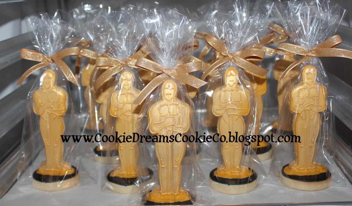 Cookie Dreams Cookie Co Oscar Cookies