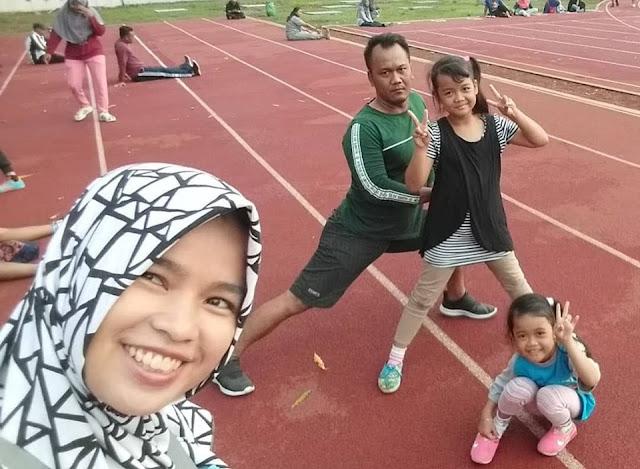 Olahraga Bersama Keluarga Bisa Asah Potensi Prestasi