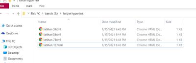 Membuat hyperlink ke file dengan menggunakan tag anchor