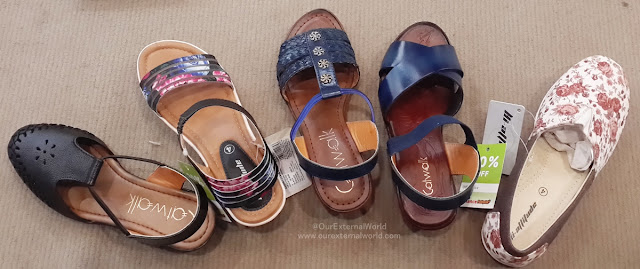 reliance footprint, summer collection, footwear
