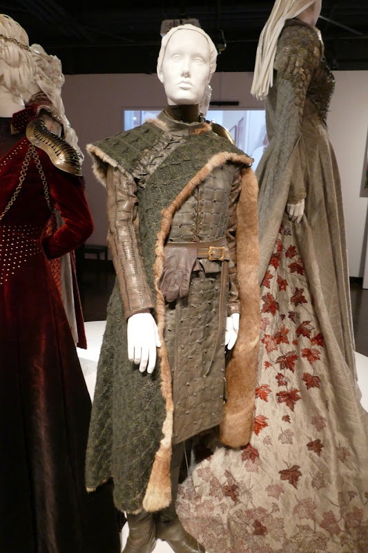 Maisie Williams Game Thrones Arya final season costume