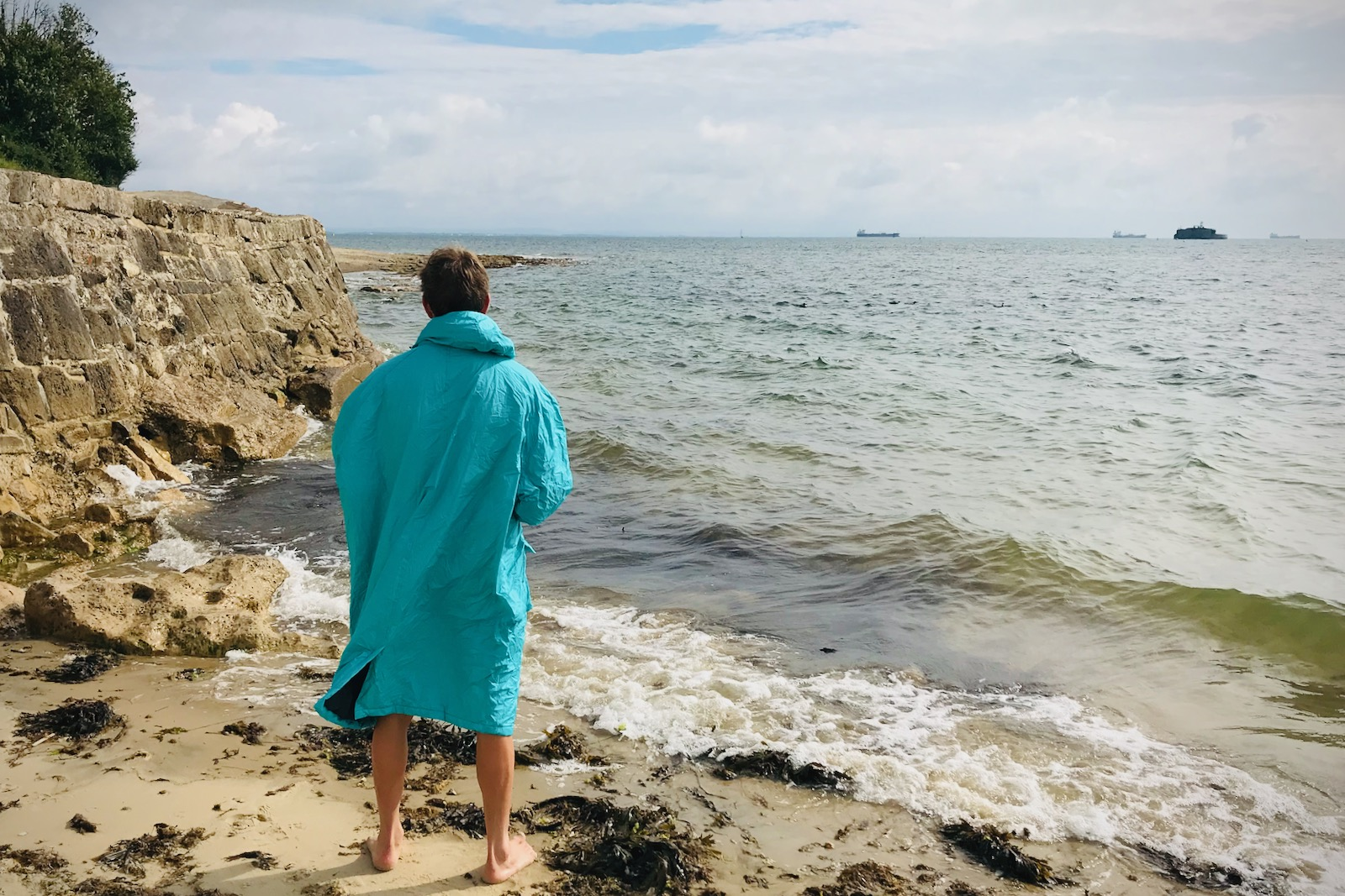Tim Wiggins Voited Outdoor DryCoat Fleece-Lined Changing Robe