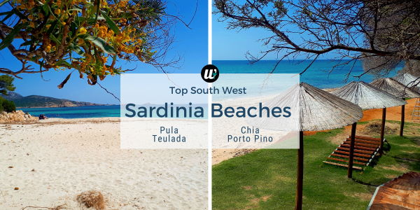Top south west Sardinia beaches | Pula, Chia, Teulada, Porto Pino | wayamaya