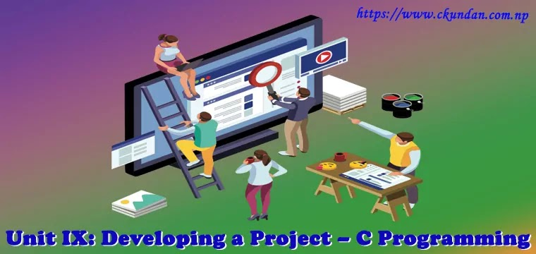 Developing a Project – C Programming
