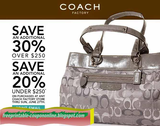 Coach coupon code 2018