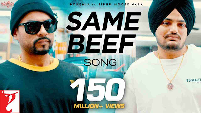 same beef lyrics - Sidhu Moosewala