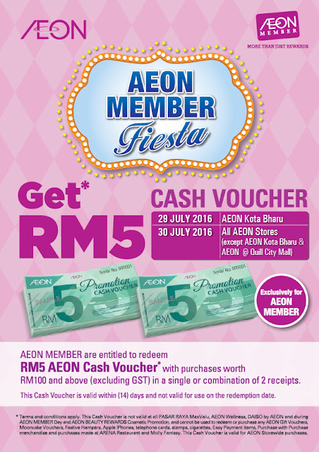 AEON Supermarket Free Cash Voucher