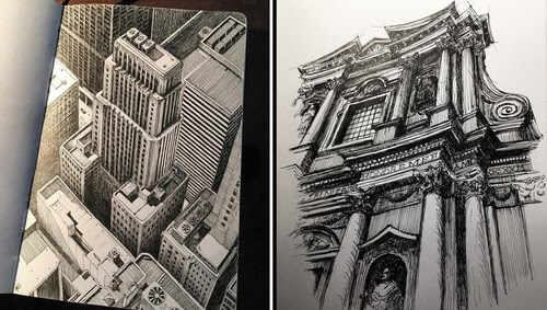 00-Mark-Poulier-Drawing-Urban-Architecture-on-a-Sketchbook-www-designstack-co