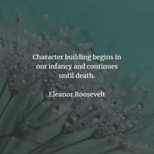 Famous quotes and sayings by Eleanor Roosevelt