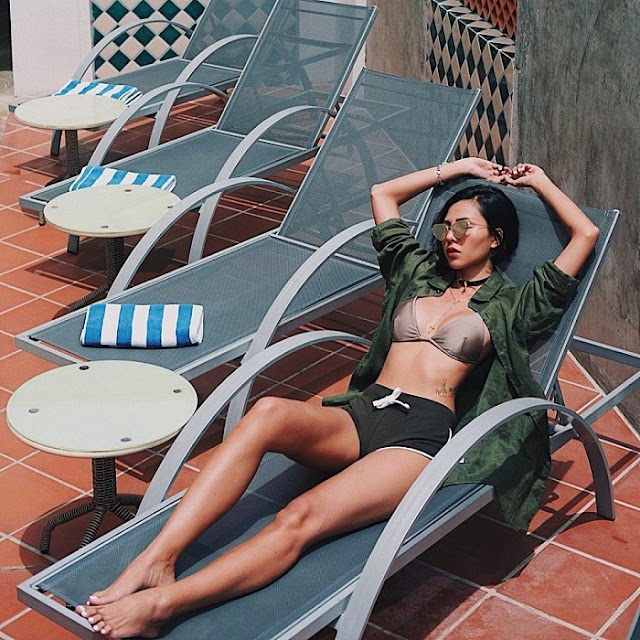 Nhuộm da bằng cách tắm nắng đẹp và cách oan toàn cho da 2