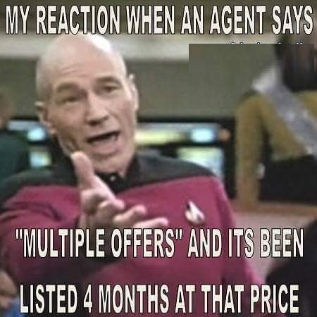 Funny Real Estate Memes - My Reaction when ...