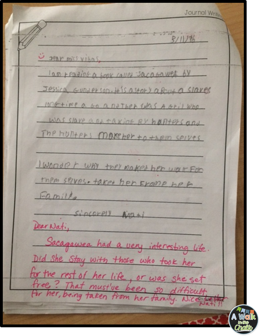 description of a response journal Sampleprestwick house response journal you read the description of maycomb on page 5, how do you think you'd feel about living and growing up in that town at.