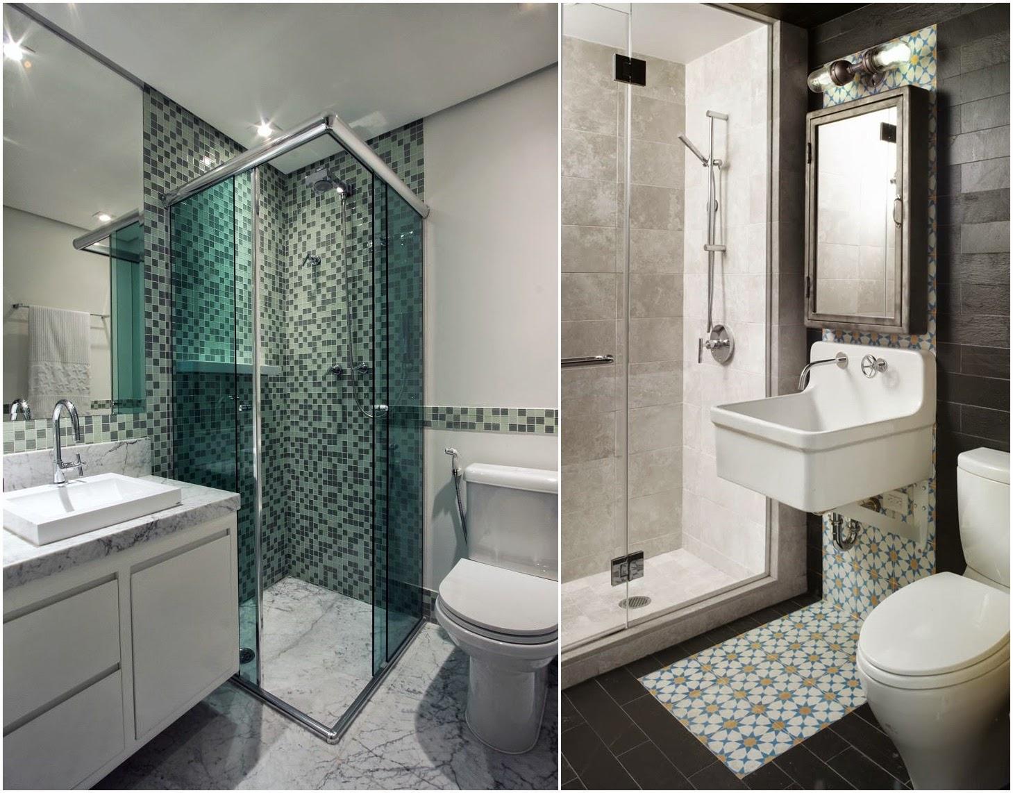 Adim veis adim veis decor ideias para banheiros pequenos for Imagenes de estanques pequenos