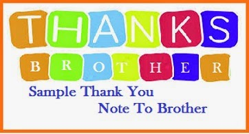 Thank You Messages! : Sister/Brother