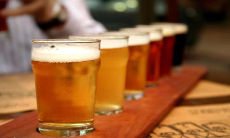 Beer bar in Kalamaki, Zakynthos, Zante