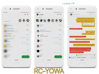 Google Theme For RC WhatsApp & YOWhatsApp Download