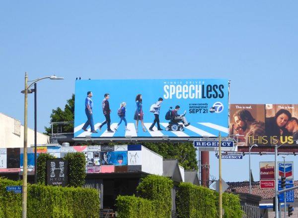 Speechless season 1 billboard