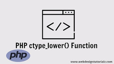 PHP ctype_lower() Function