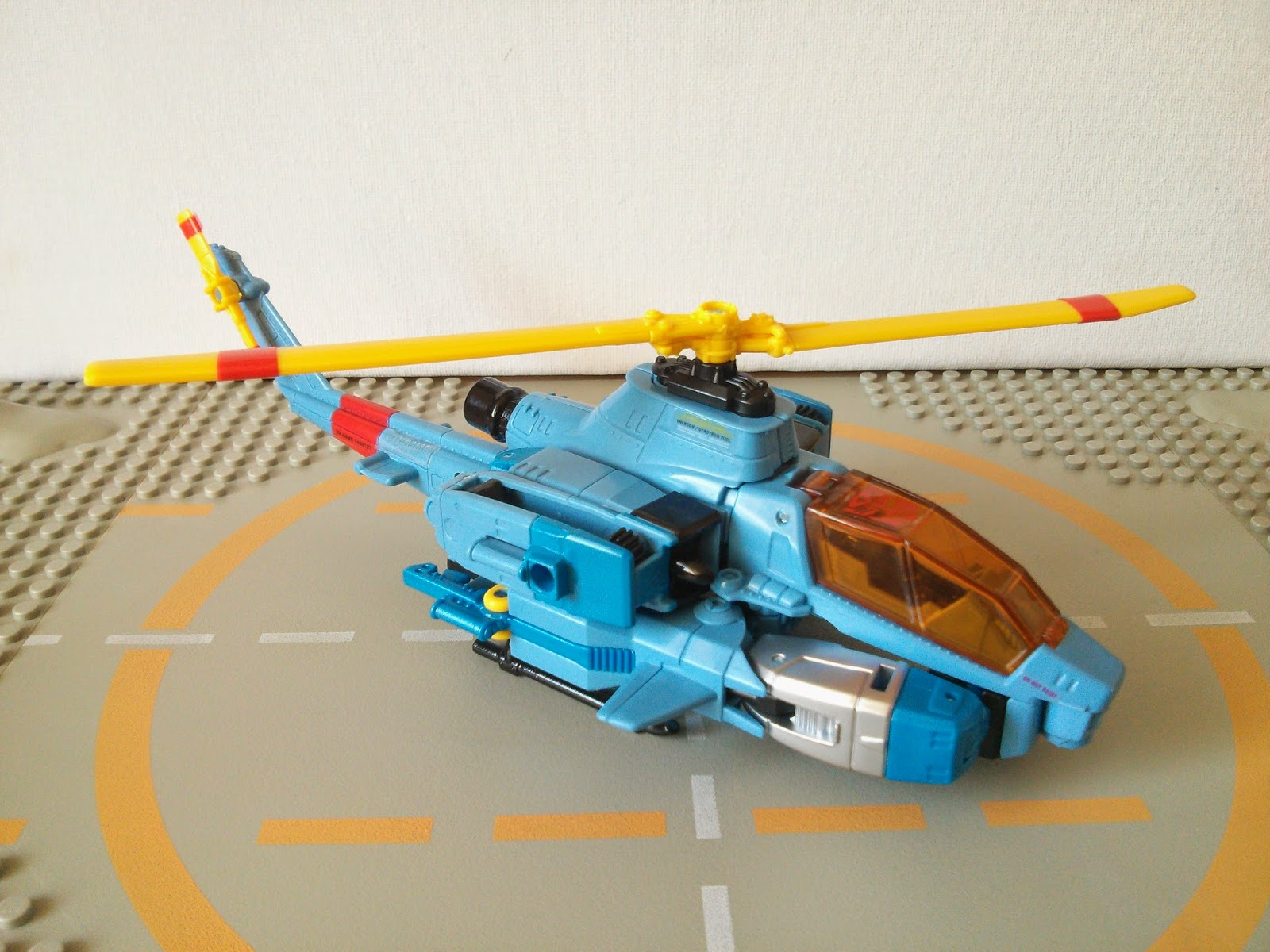 Whirl in helicopter mode