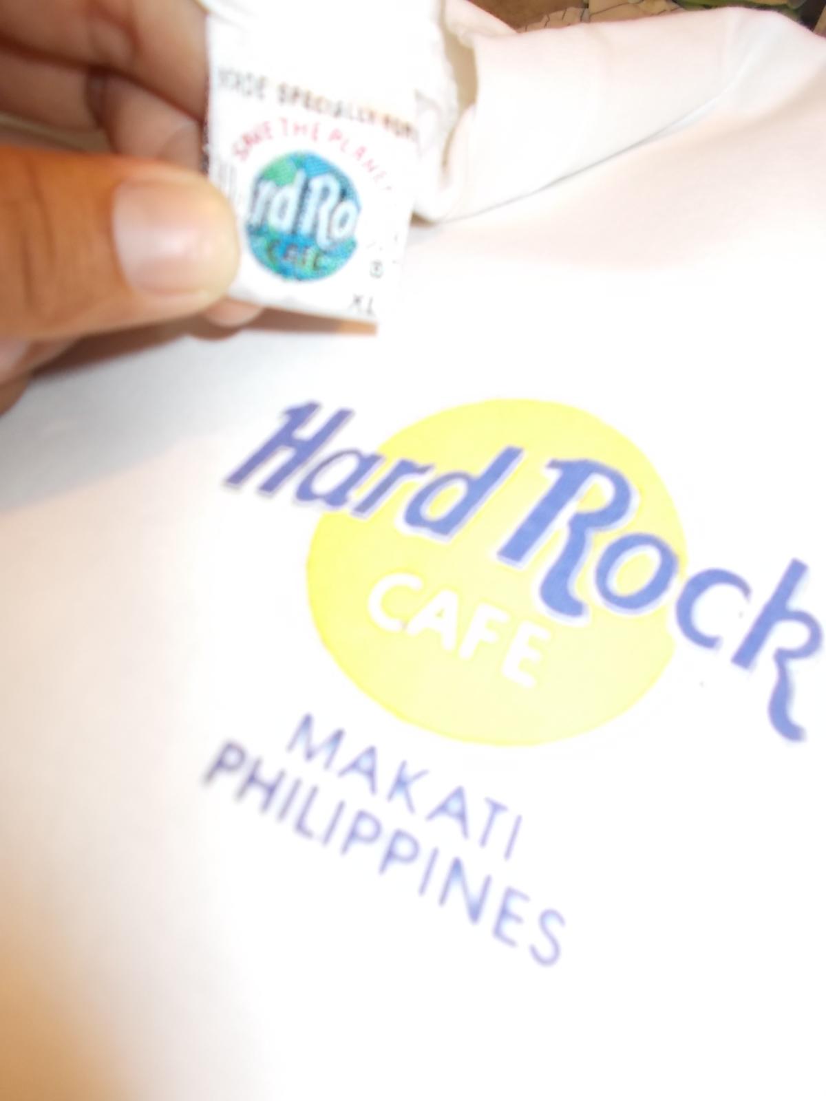 Hard Rock Cafe Makati T Shirt Price