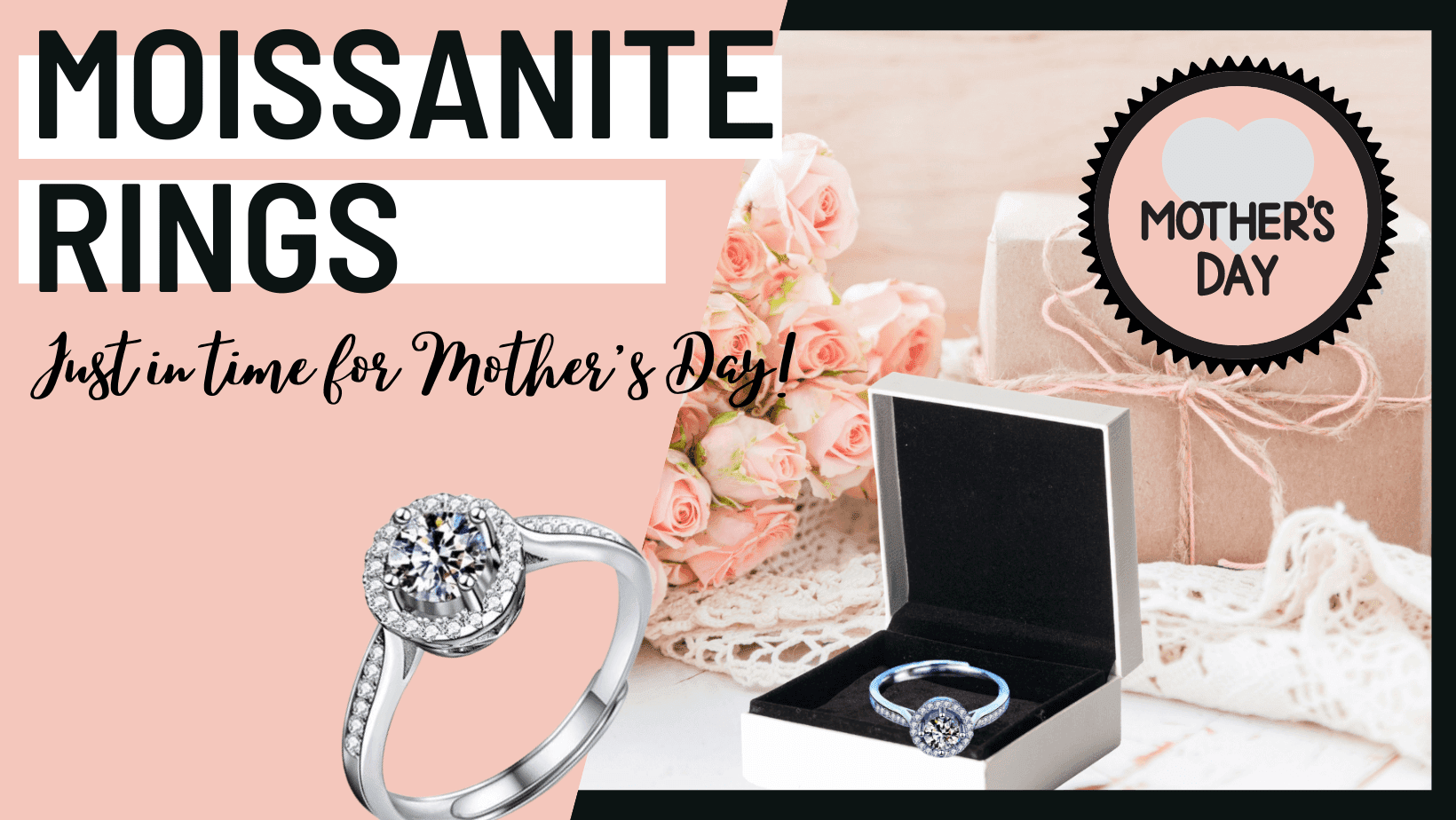 Dwellbling Moissanite Jewelry For Mother's Day
