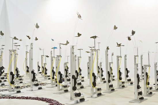 """Candelilla, Coatlicue, and the Breathing Machine"" Exhibition at Ballroom Marfa"