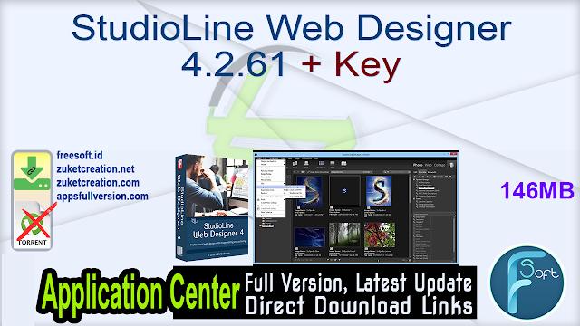 StudioLine Web Designer 4.2.61 + Key