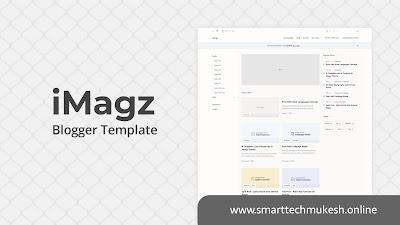 iMagz Blogger Template Premium Download