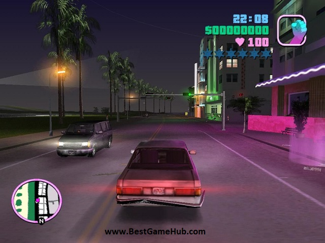 Grand Theft Auto - Vice City with audio game pc free download - bestgamehub.com