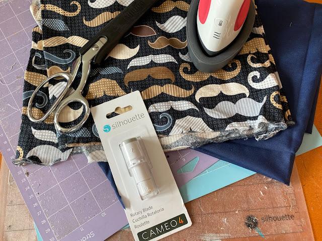 sewing, fabric, fabric mask, rotary blade, mini press