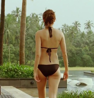 Anushka sharma sexy back