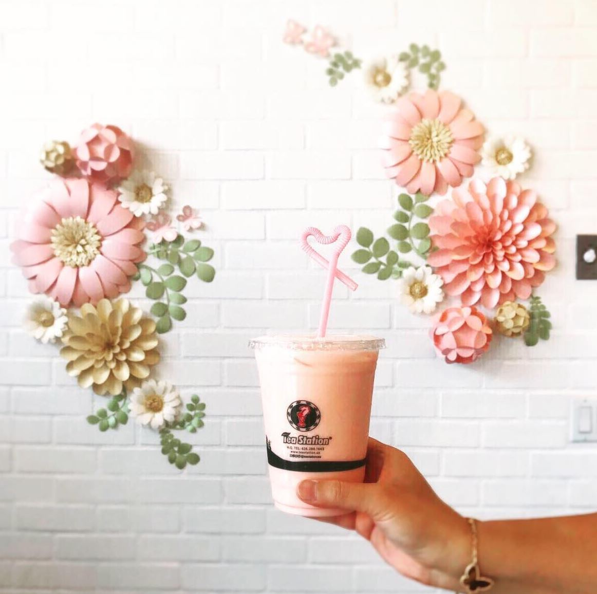 All February, Enjoy Tea Station Drinks For Only $2